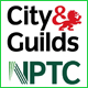 City & guilds & NPTC logos